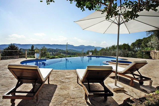 luxury rental for 12  with Pool and Air con  6 Br  - Ibiza