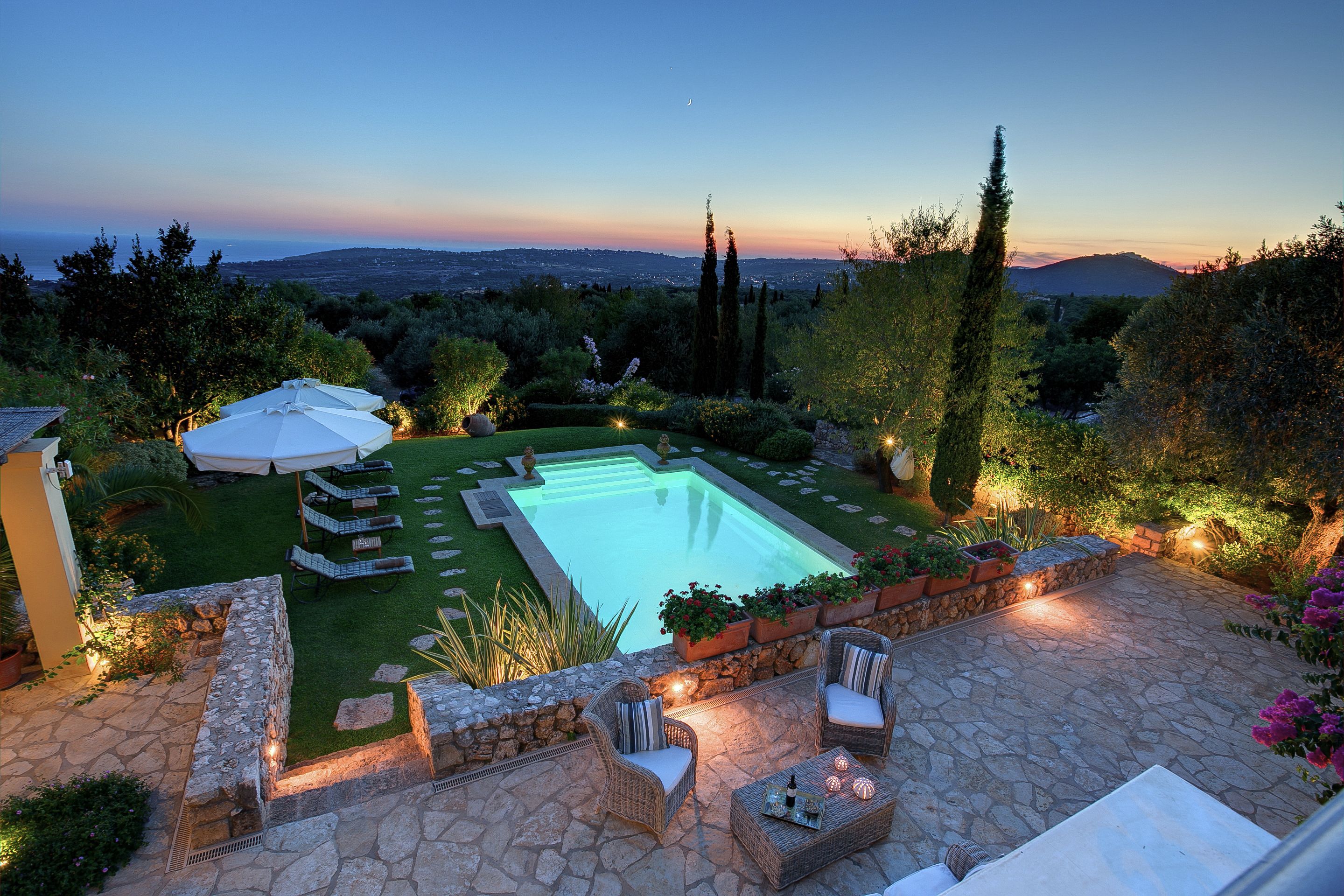 luxury villa rental, Greece, IONCEP 1701