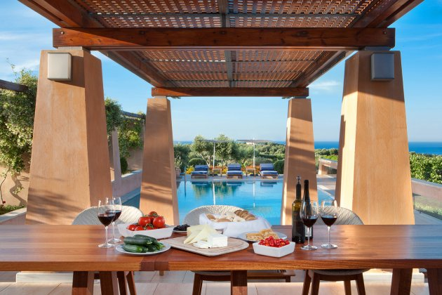 luxury villa rental, Greece, CRECHA 3201