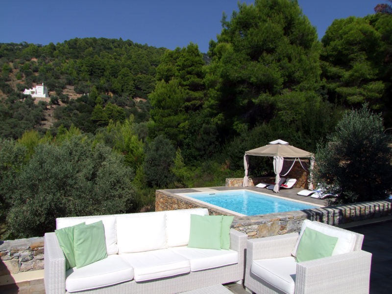 luxury villa rental, Greece, SPOALO 4001