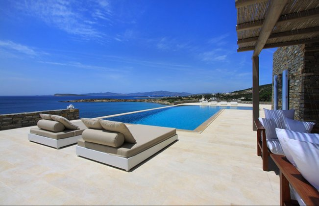 luxury villa rental, Greece, CYCPAR 1101