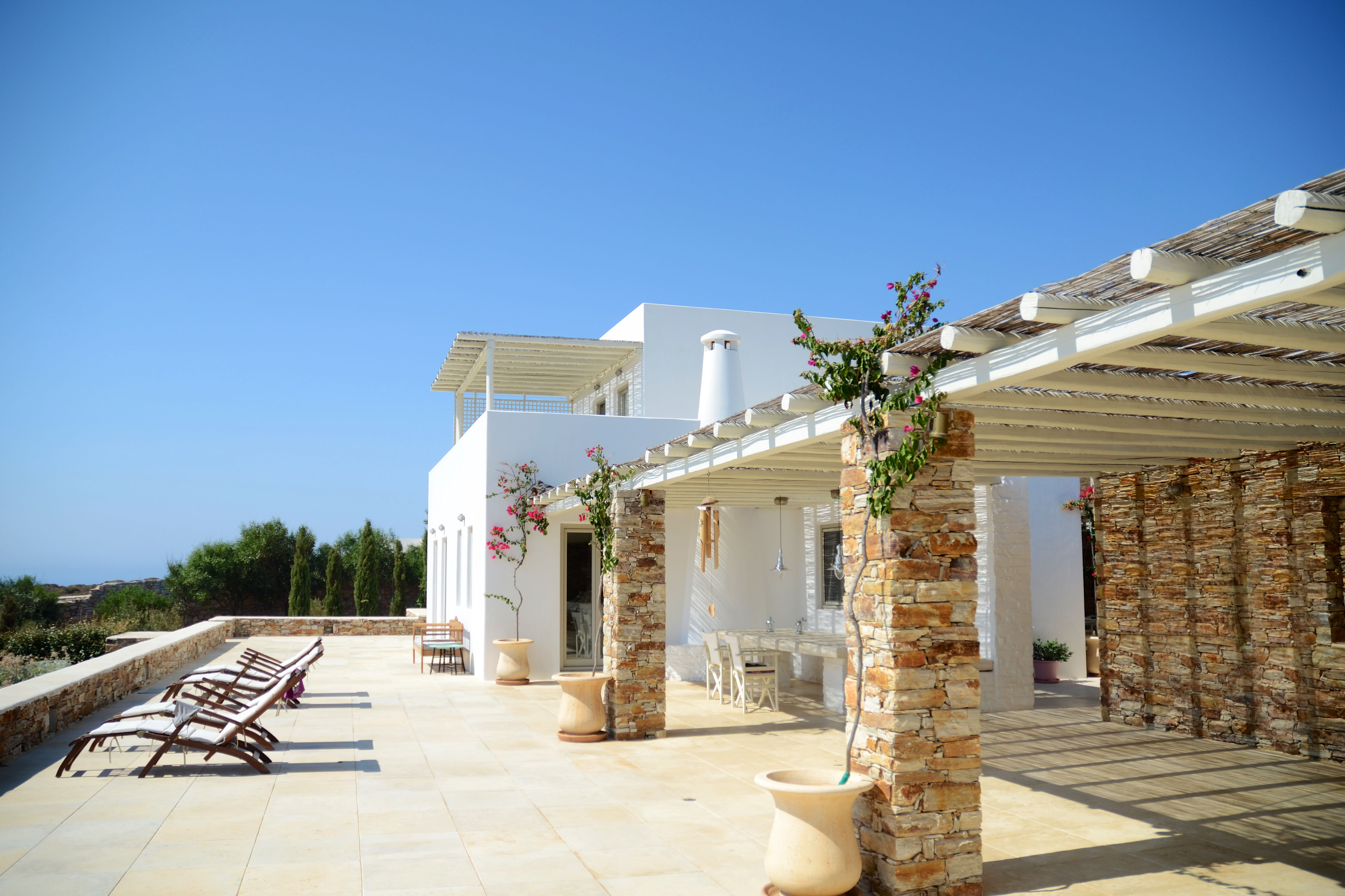 luxury villa rental, Greece, CYCANT 407