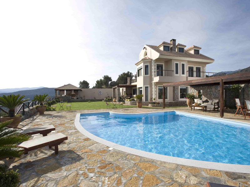 luxury villa rental, Greece, CREAGI 4301