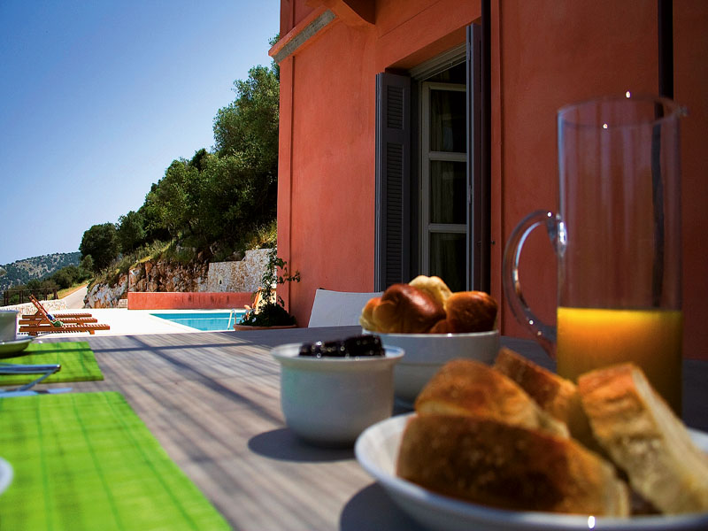 luxury villa rental, Greece, IONCEP 3401