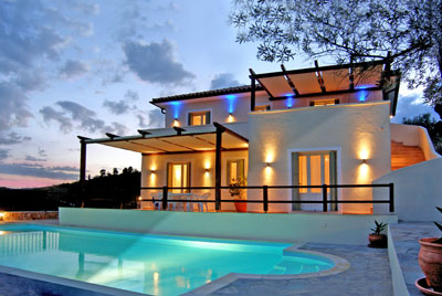luxury villa rental, Greece, SPOALO 105