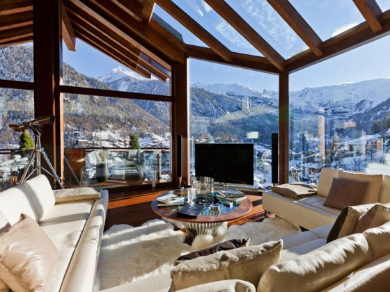 luxury villa rental, Switzerland, CHAZER 4801