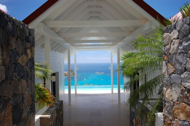 luxury villa rental, Caraibean and Americas, STBART 325