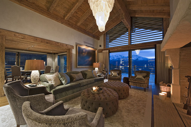 luxury villa rental, Switzerland, CHAVER 4704