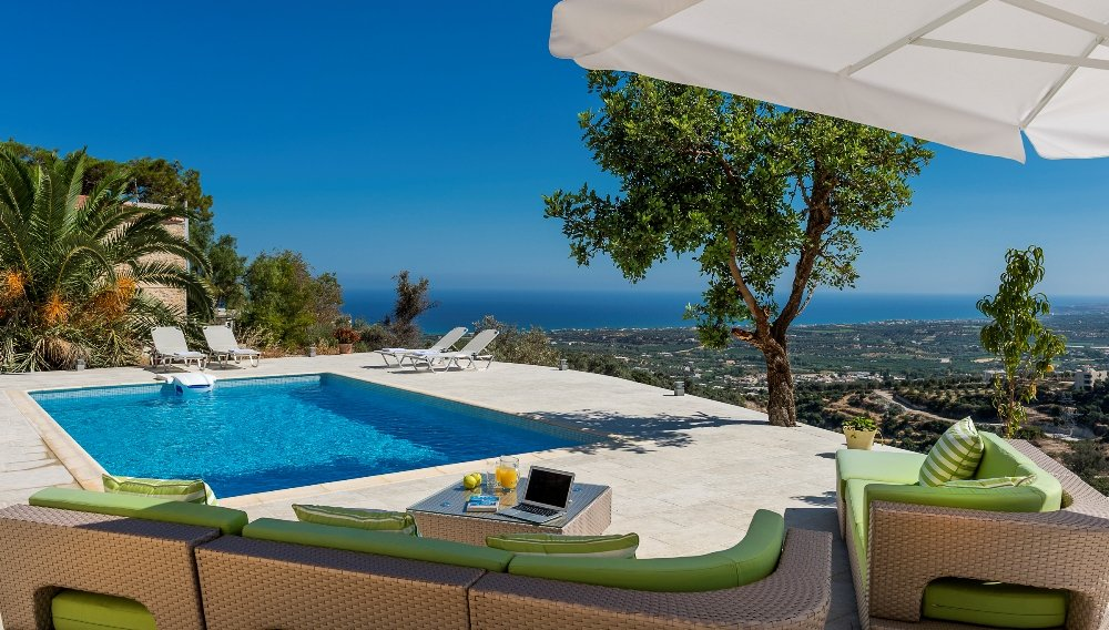 luxury villa rental, Greece, CRERET 6901