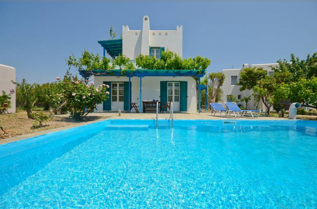 luxury villa rental, Greece, CYCNAX 2903