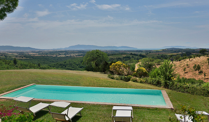 luxury villa rental, Italy, TOSMAR 1041