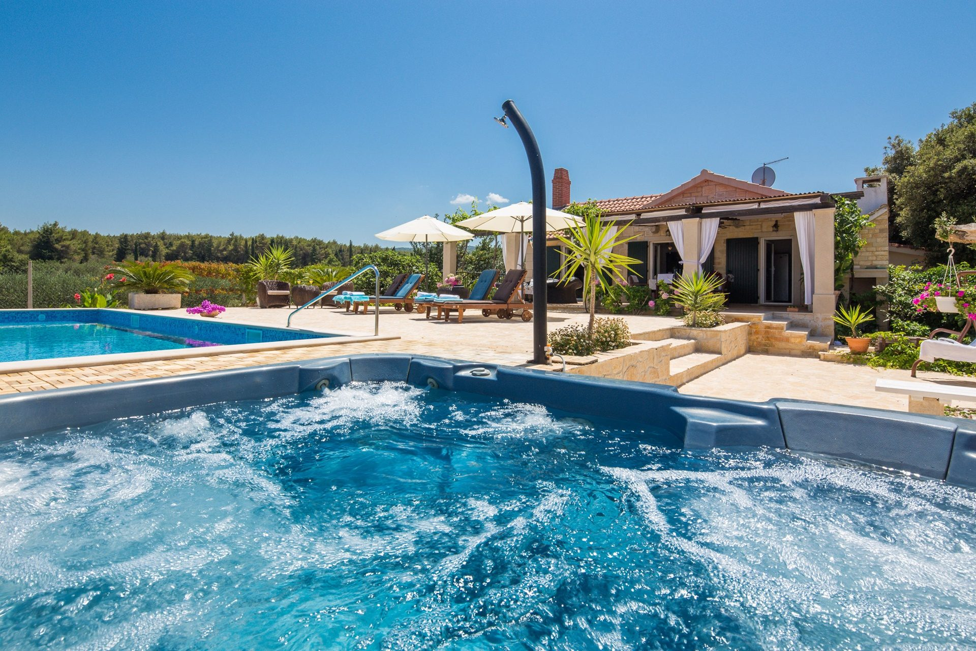 location villa luxe, Croatie, CROBRA 316