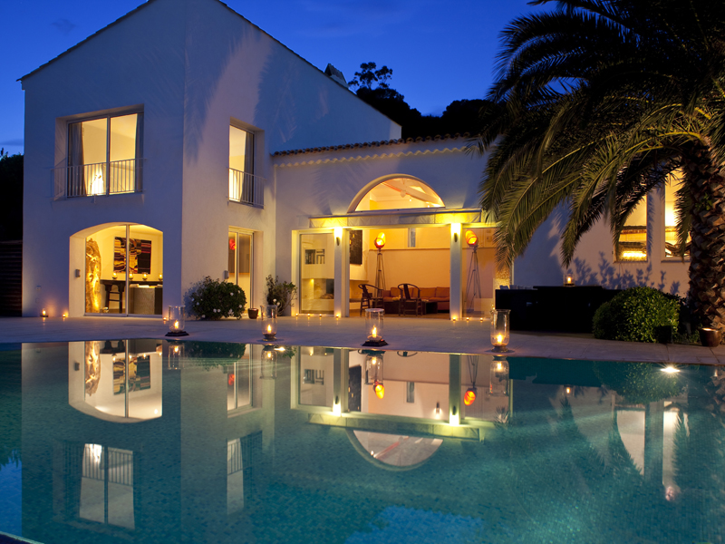 luxury villa rental, France, VARESC 049