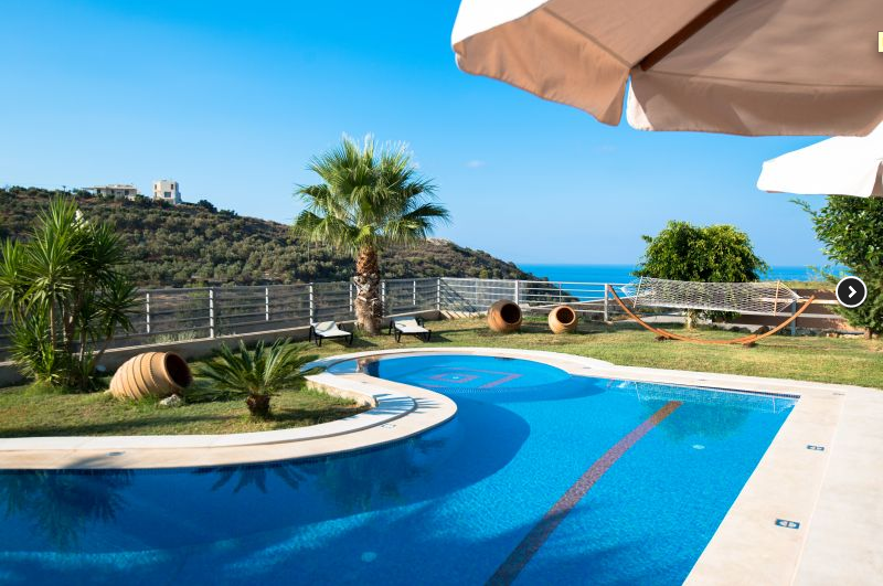 luxury villa rental, Greece, CRERET 855