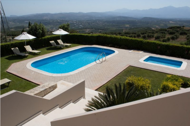 luxury villa rental, Greece, CREHER 824