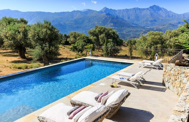 luxury villa rental, France, CORCAL 8112