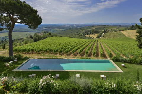 luxury villa rental, Italy, TOSCHI 2048