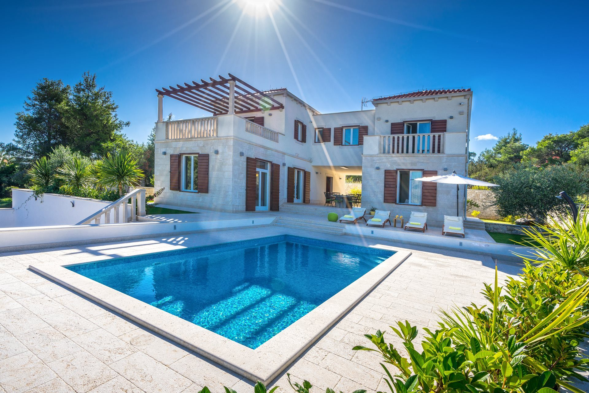 location villa luxe, Croatie, CROBRA 302