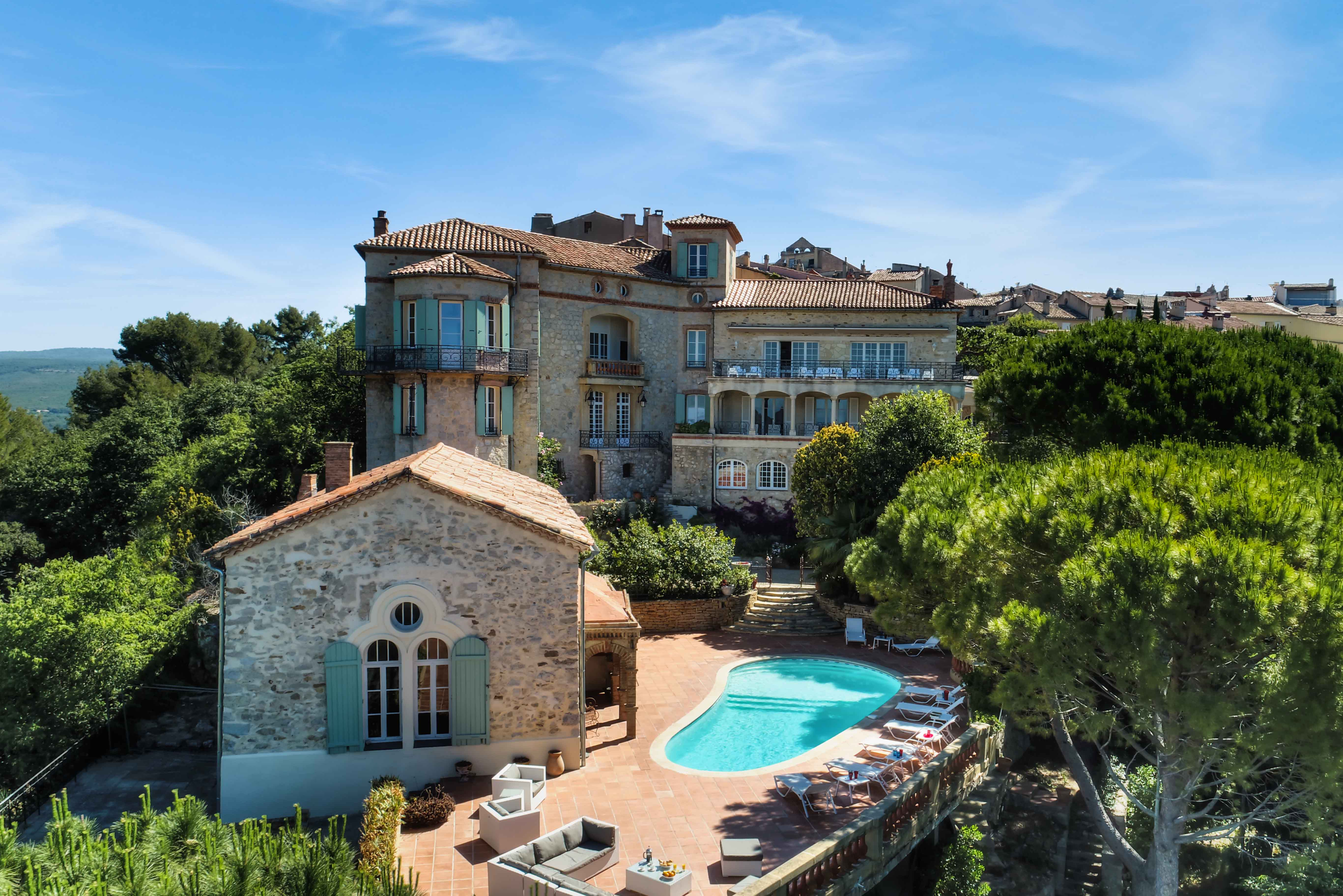 luxury villa rental, France, VARCAS 054