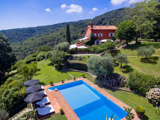 luxury villa rental, Italy, TOSCHI 2070