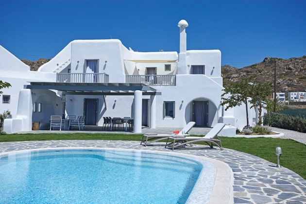 luxury villa rental, Greece, CYCNAX 8002S