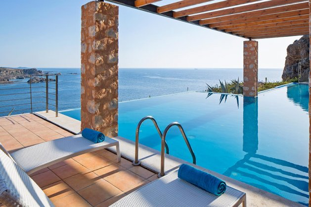 luxury villa rental, Greece, CRECHA 6001