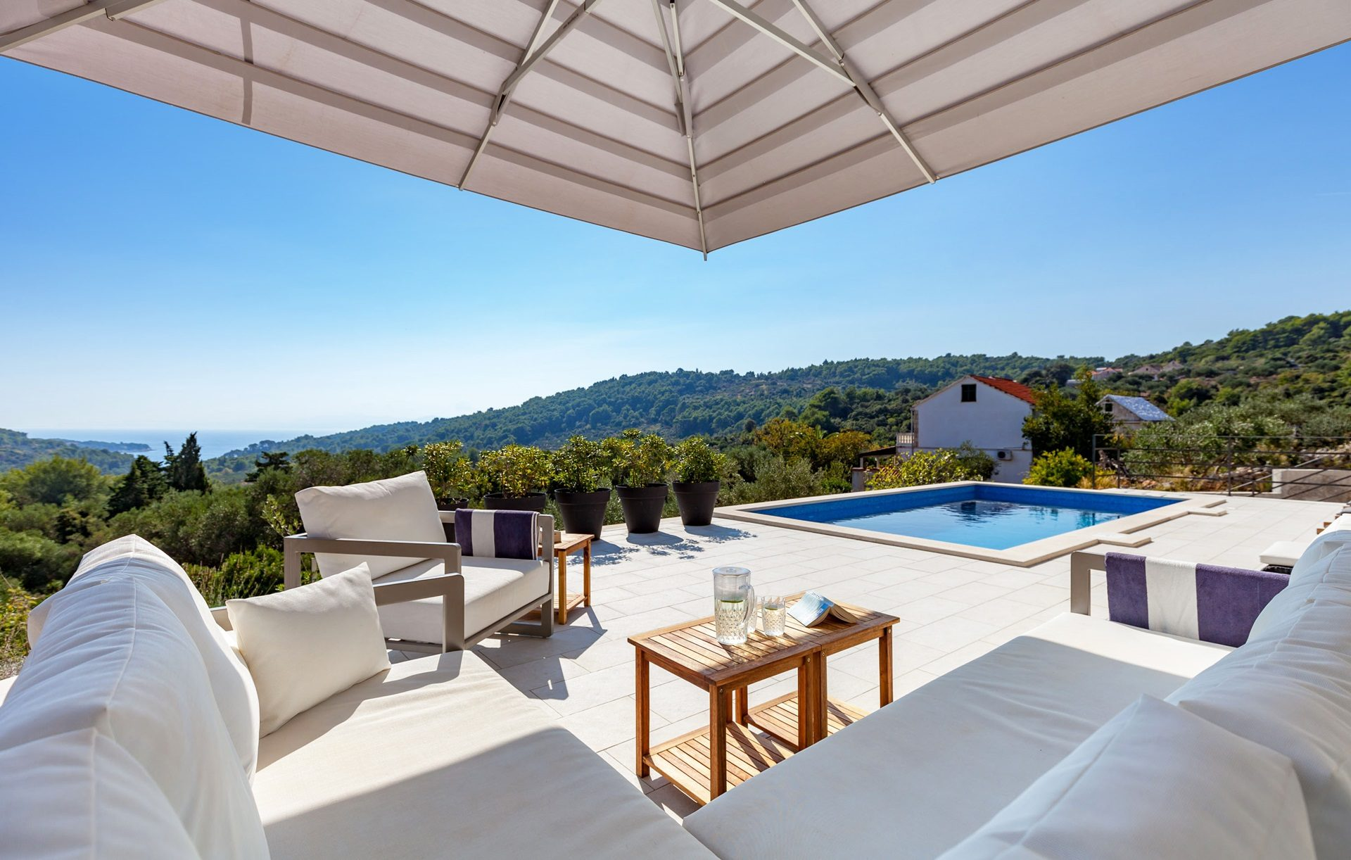 location villa luxe, Croatie, CROBRA 305