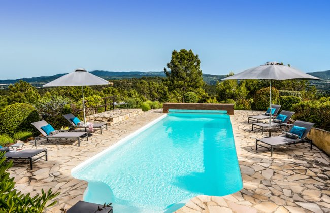 luxury villa rental, France, LUBGOR 8174