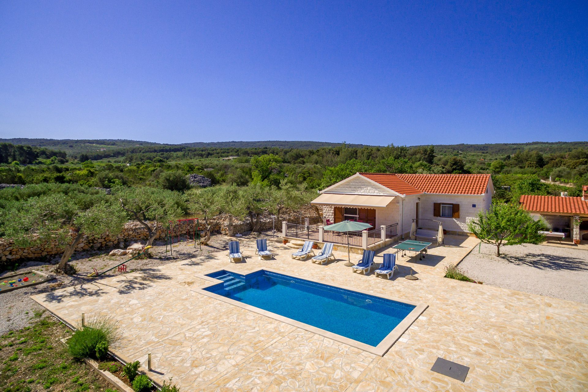 location villa luxe, Croatie, CROBRA 342