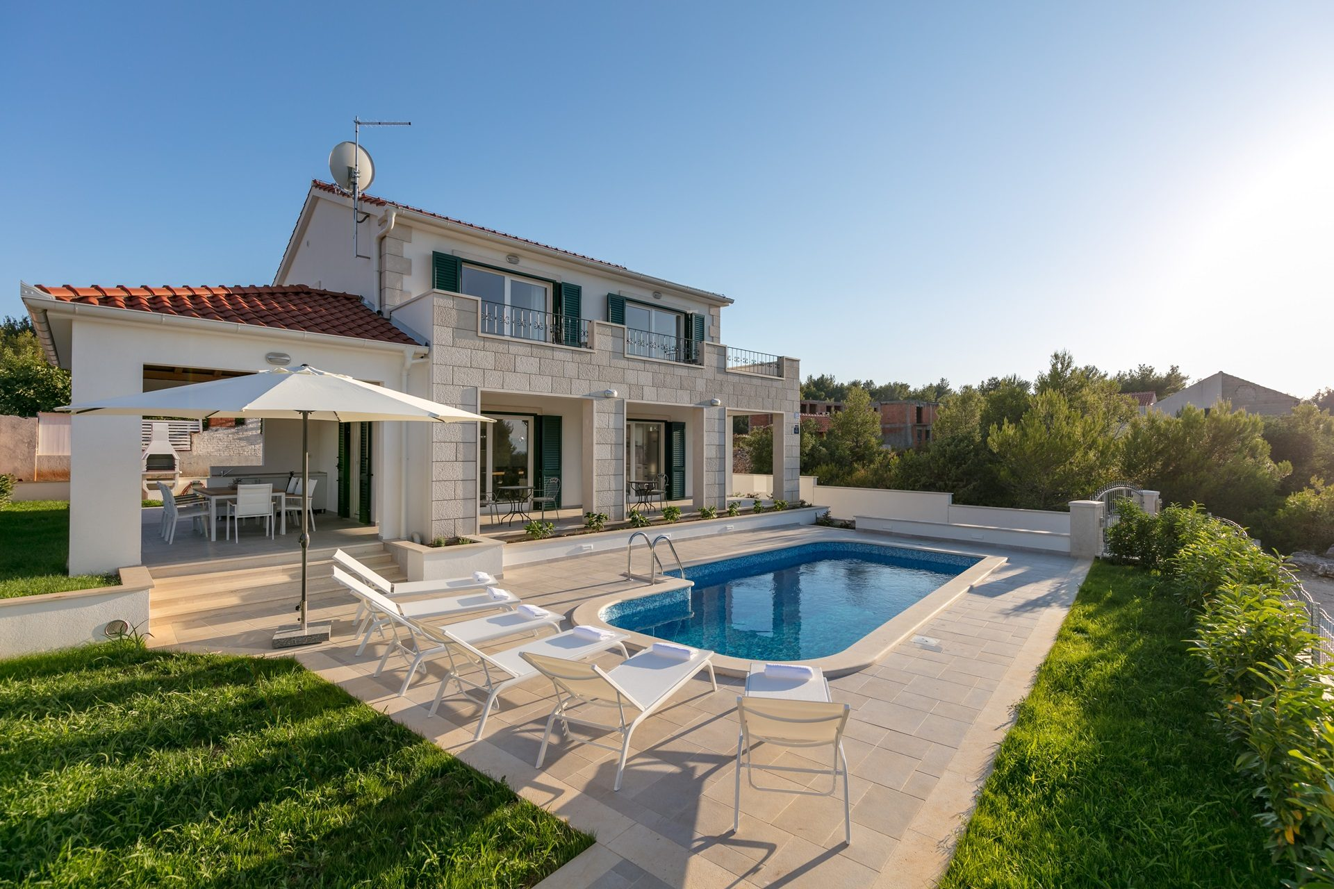 location villa luxe, Croatie, CROBRA 308