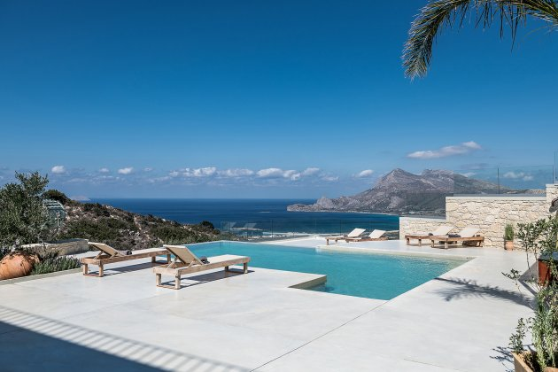 luxury villa rental, Greece, CRECHA 10013