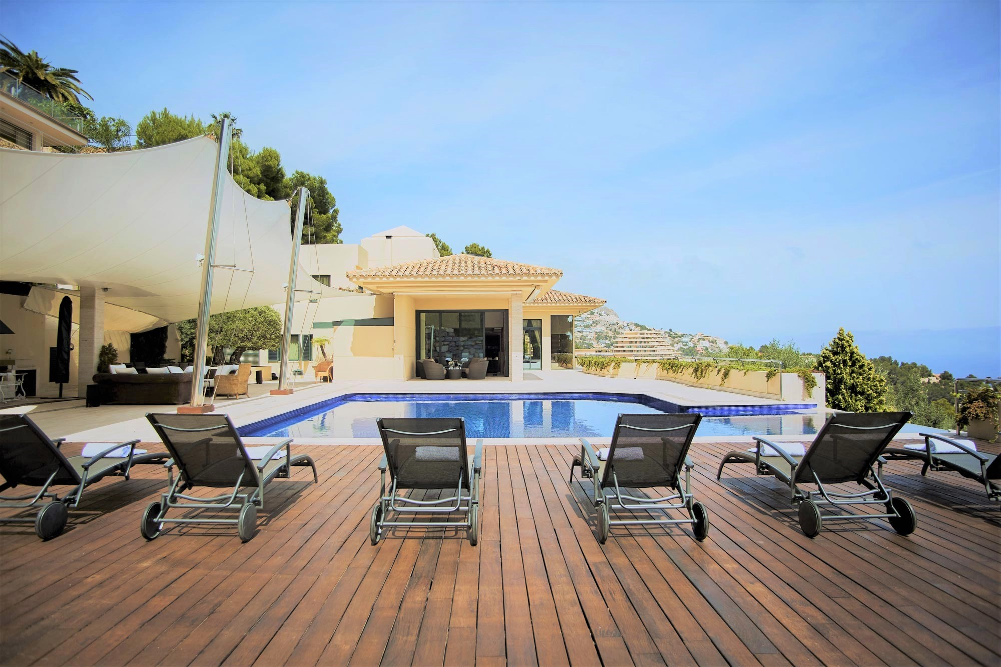 luxury villa rental, Spain, ESPALT 3226