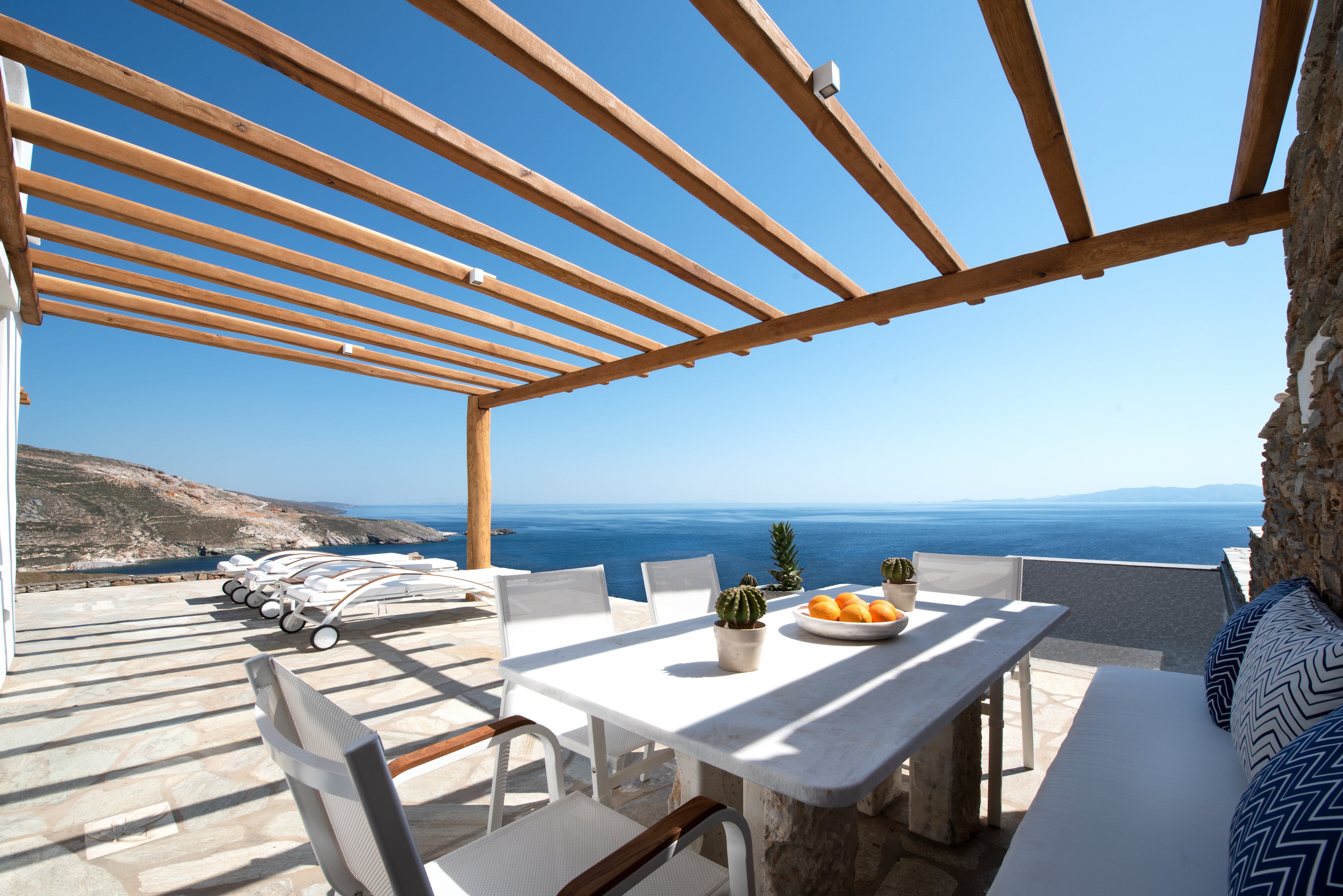 luxury villa rental, Greece, CYCTIN 10029B