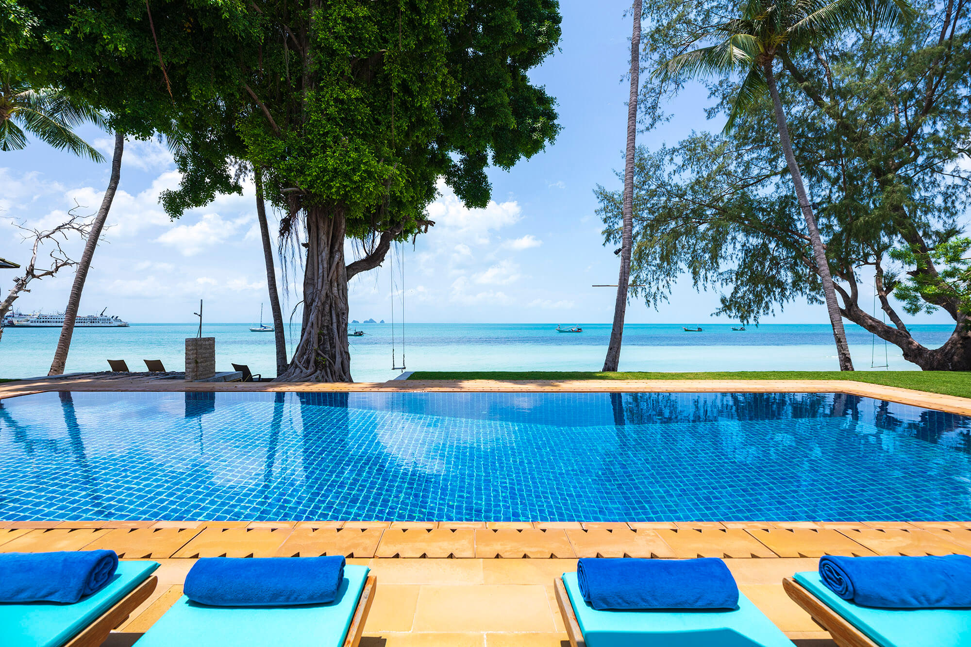 luxury villa rental Asia and Indian Ocean