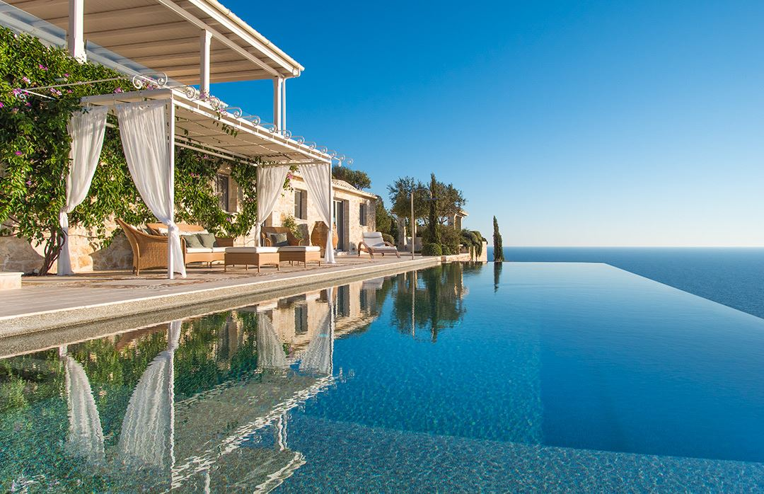 luxury villa rental, Greece, IONPAX 8101