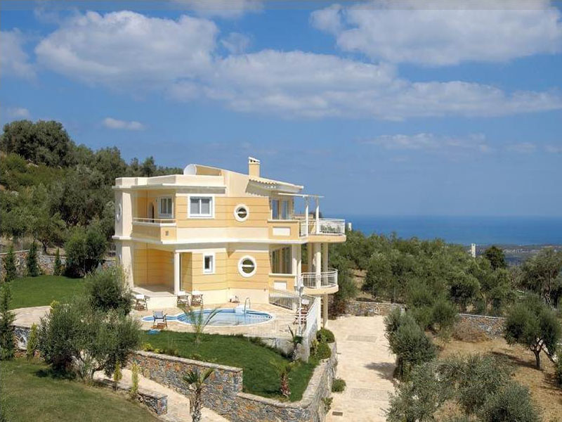 luxury villa rental, Greece, CRERET 801A