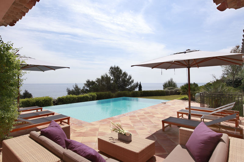 luxury villa rental, France, VARESC 0291