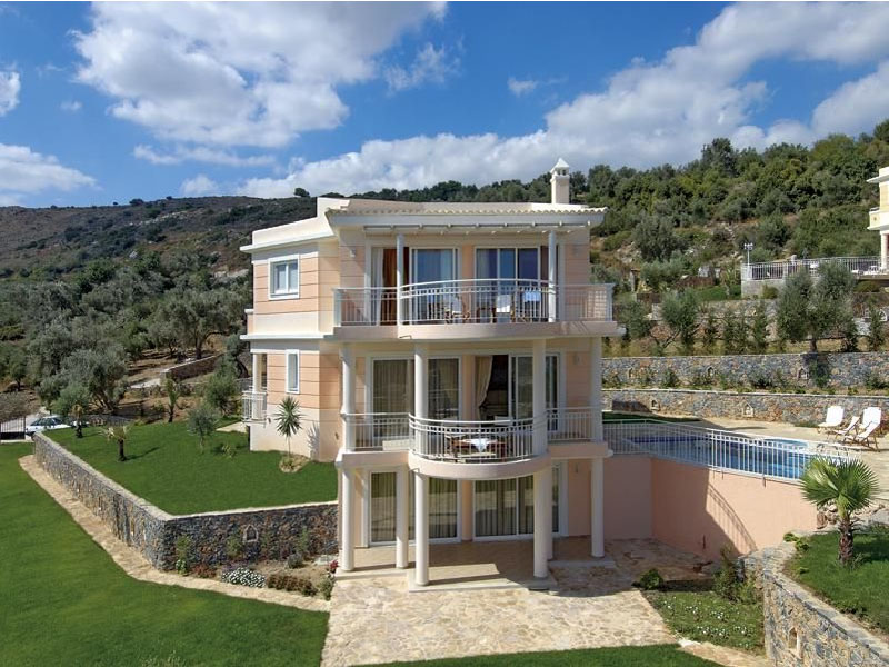 luxury villa rental, Greece, CRERET 801B