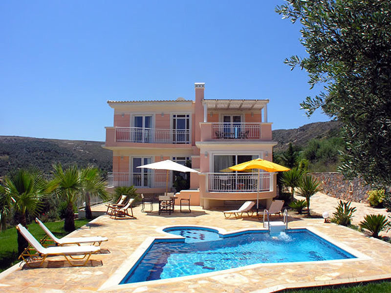 luxury villa rental, Greece, CRERET 801D