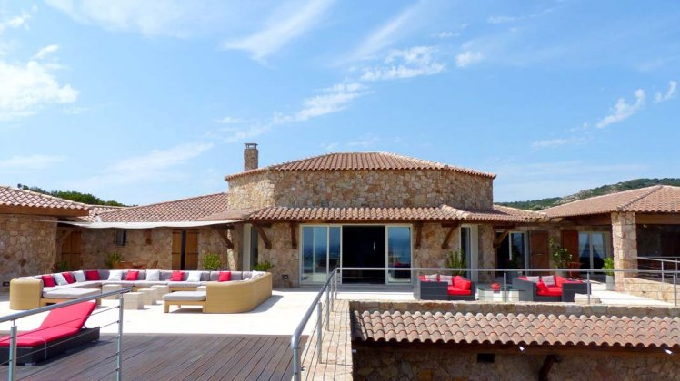 luxury villa rental, France, CORSPE 004