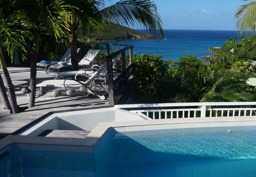luxury villa rental, Caraibean and Americas, STBART 306