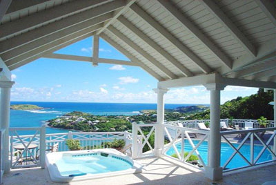 luxury villa rental, Caraibean and Americas, STBART 309