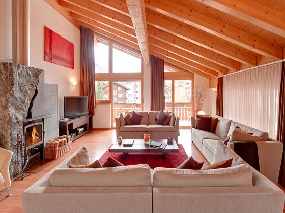luxury villa rental, Switzerland, CHAZER 322