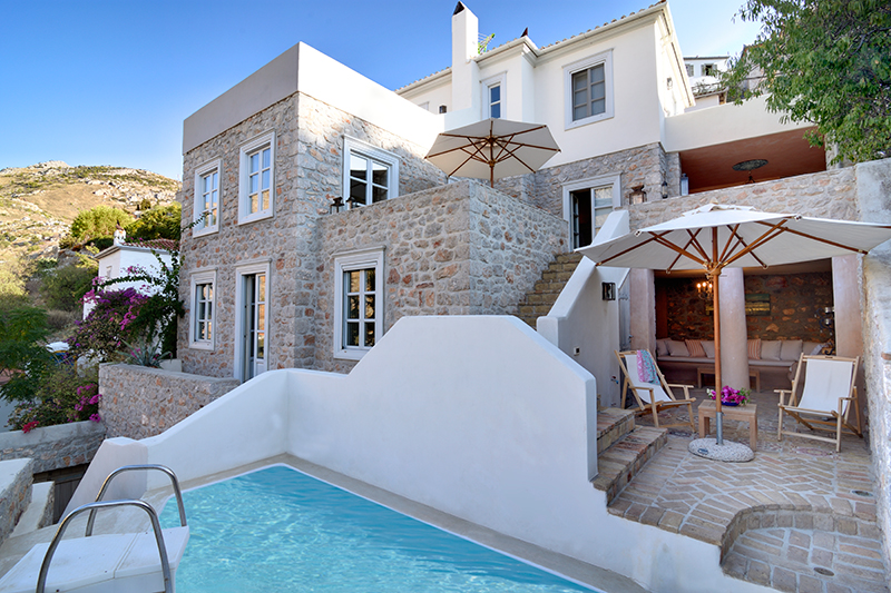 luxury villa rental, Greece, SARHYD 705