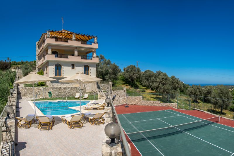 luxury villa rental, Greece, CRERET 871