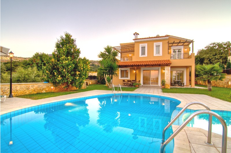 luxury villa rental, Greece, CRERET 814