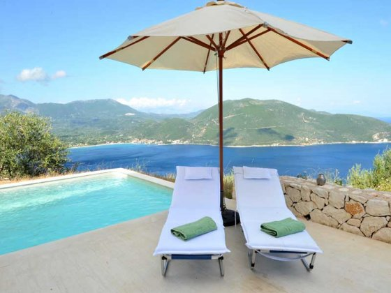 luxury villa rental, Greece, IONLEF 2303